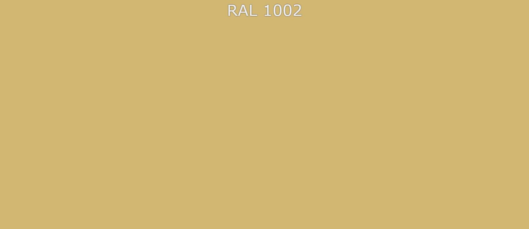 """Краска акриловая универсальная по RAL """"VESTA - 1002 """" цвет Песочно-жёлтый -  1 кг"""